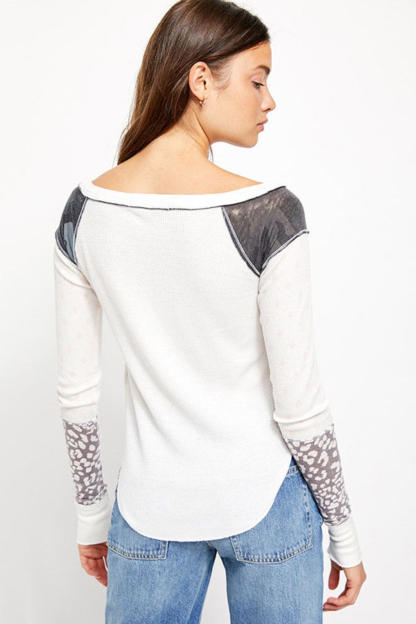 Free People - Bright Side Thermal in Snow Combo (OB1072237)