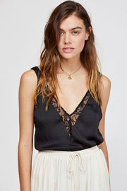 Free People - All in My Head Cami in Black (OB809904)