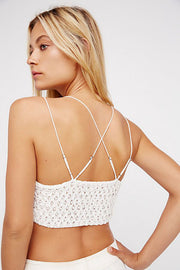 Free People - Adella Bralette in White (F16M00206)