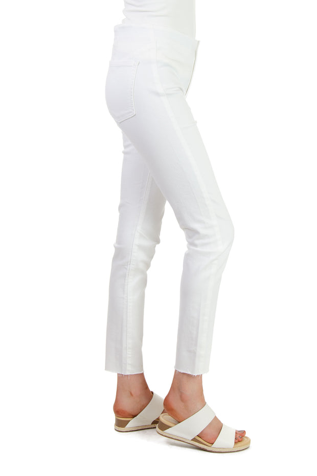 Free People - Miles Away Skinny Jeans in White