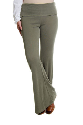 Free People - Division Flare Pants in Army (OB795361)