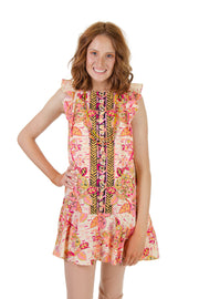 Free People - Summer in Tulum Top in Pink Combo (OB948223)