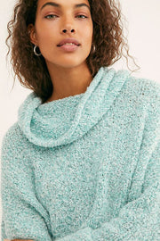 Free People - BFF Sweater in Aqua Star (OB1032730)