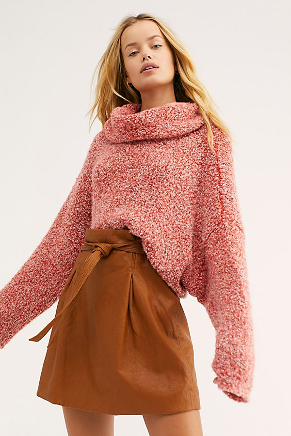 Free People - BFF Sweater in Red Lotus (OB1032730)