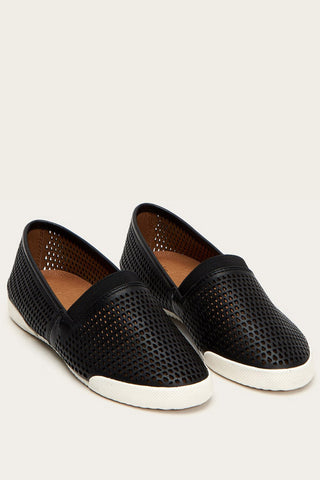 Frye - Melanie Perf Slip-on Shoe in Black (79199)