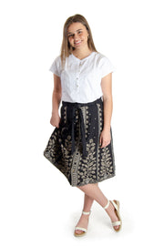 Johnny Was - Tasya Button Down Skirt in Black (J70419-2)