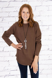Raglan Sweater in Mountain Ash