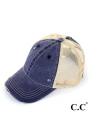 Judson & CO- Pony Tail Cap (7213)