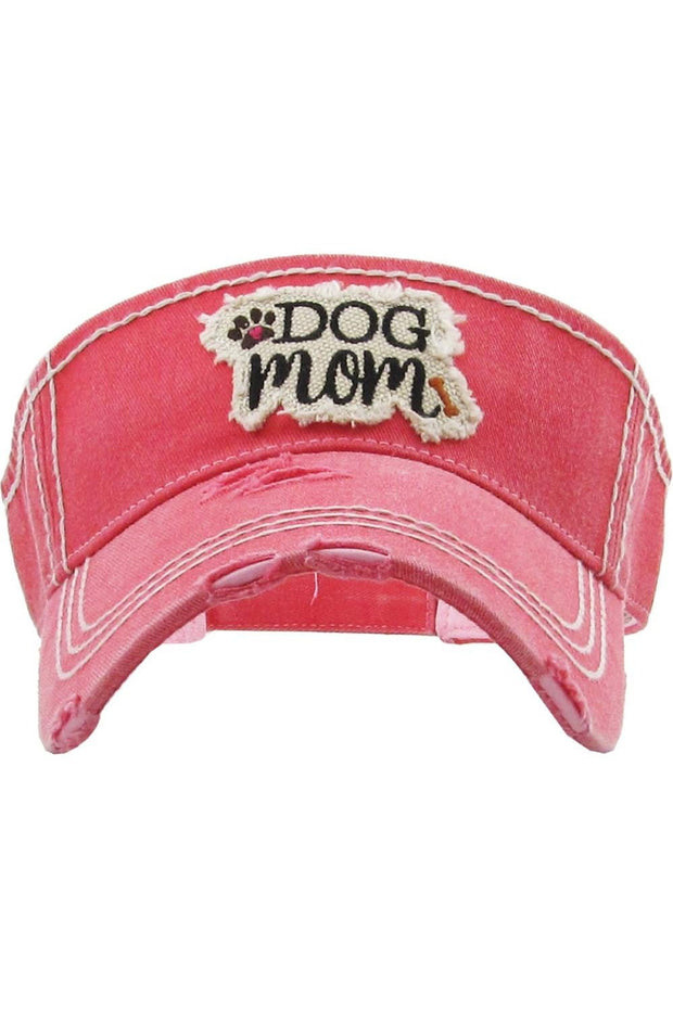 Judson & CO- Dog Mom Visor (7214)