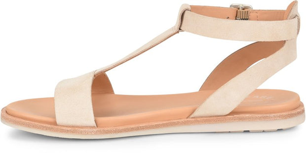 Kork-ease - Zukey Suede Sandal in Sand (Zukey)
