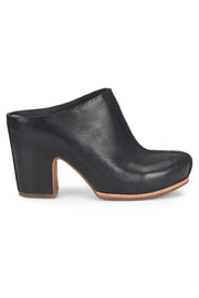 Sagano Leather Mule in Black