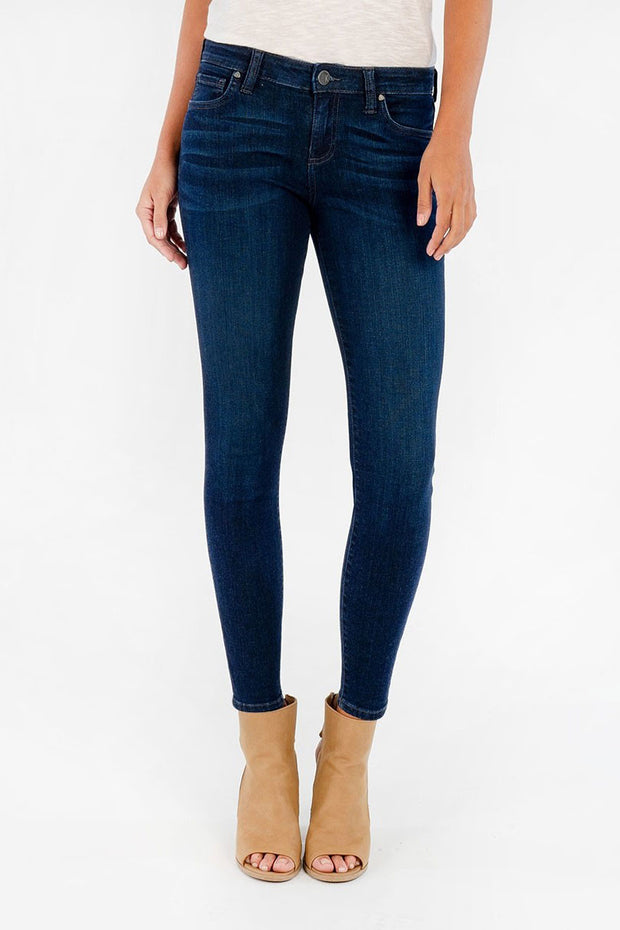 KUT - Connie Skinny Ankle Jeans in Influential Wash (KP0177MC5)