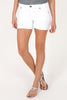 KUT - Gidge Frayed Hem Shorts in White (KS800MC9)