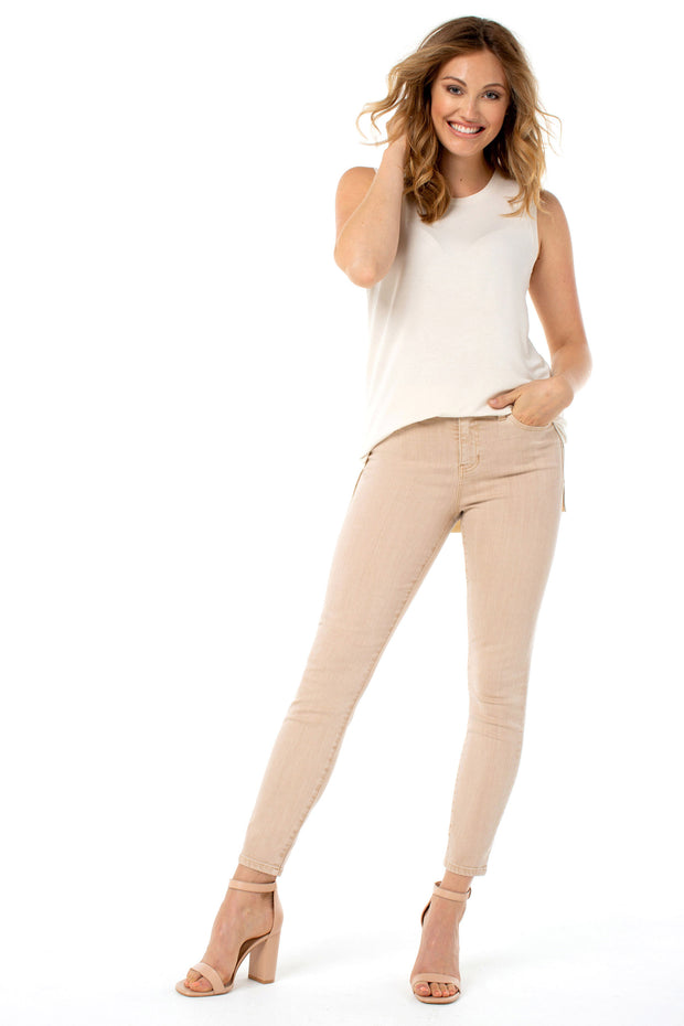 Liverpool - Piper Hugger Ankle Skinny in Panama Tan (LM2098WF)