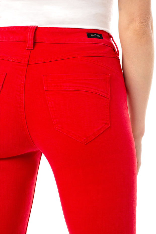 Liverpool - Piper Hugger Ankle Skinny in Red Ginger (LM2098WF)
