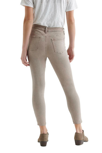 Lucky Brand - Ava Skinny Crop in Putty (7WD11035)