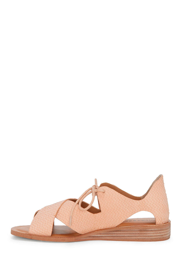 Lucky Brand - Hafsa Sandal in Coral Orange (Hafsa)