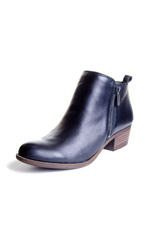Lucky Brand - Basel Leather Bootie in Black (Basel)