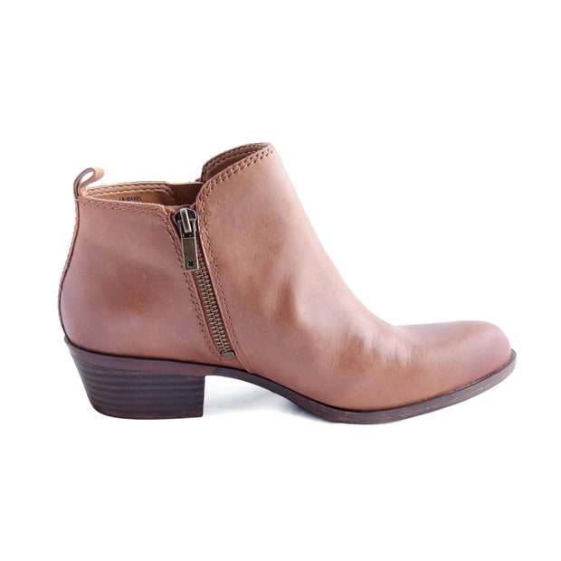 Lucky Brand - Basel Leather Bootie in Toffee (Basel)