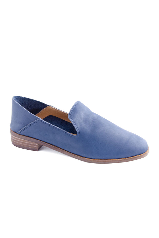 Lucky Brand - Cahill Leather Loafer in Indigo (Cahill)