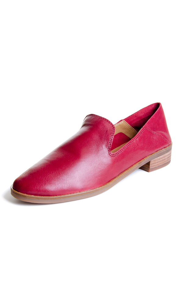 Lucky Brand - Cahill Leather Loafer in Biking Red (Cahill)