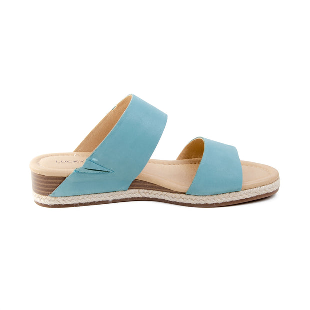 Lucky Brand - Wyntor Strap Sandal in Turquoise (Wyntor)
