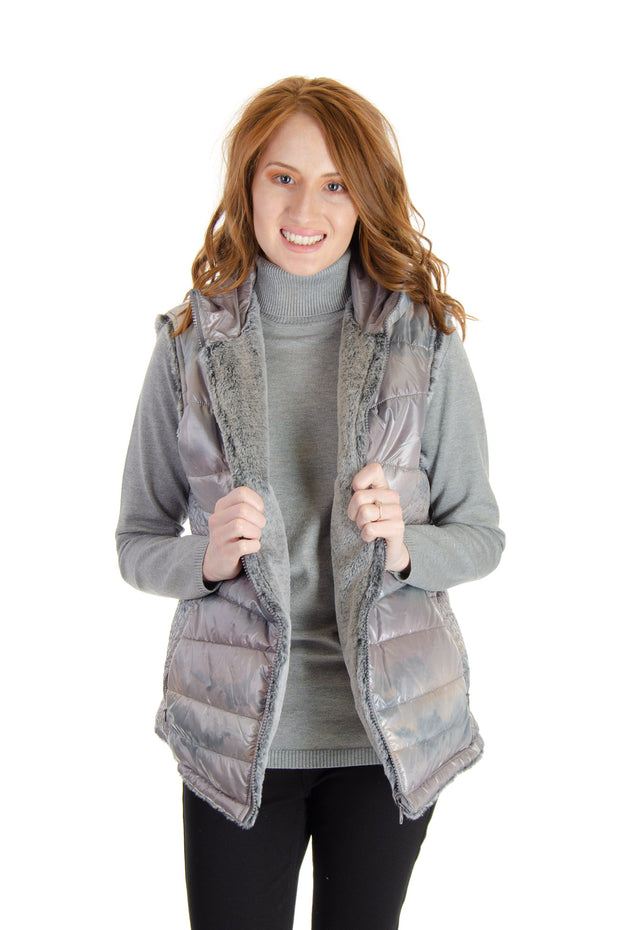 Montana Co. - Reversible Vest in Camo (EF19474)
