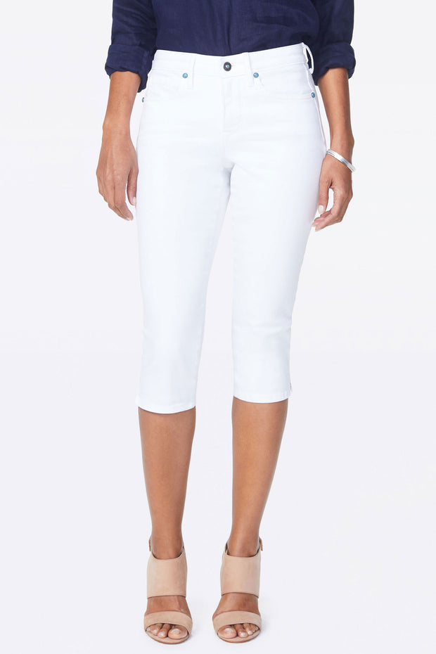 NYDJ - Skinny Capri Jeans in Optic White (MFOZCP2542)