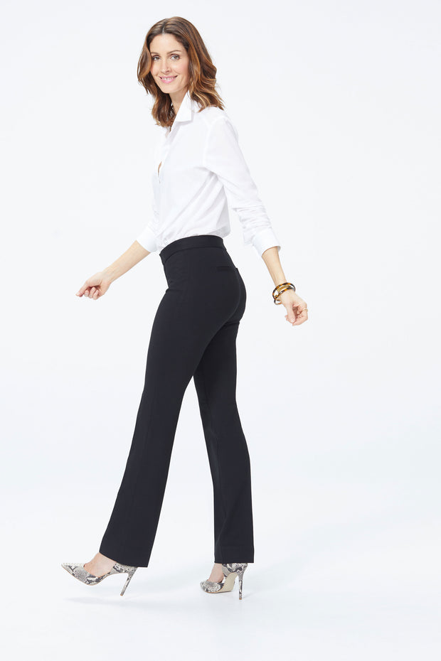 NYDJ - Slim Trouser in Black (M11Z2020)