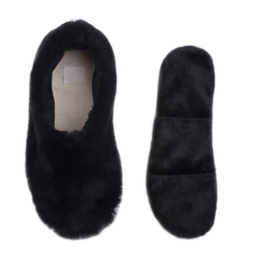 Pantuss - Aromatherapy Ballerina Slipper in Black (W1)