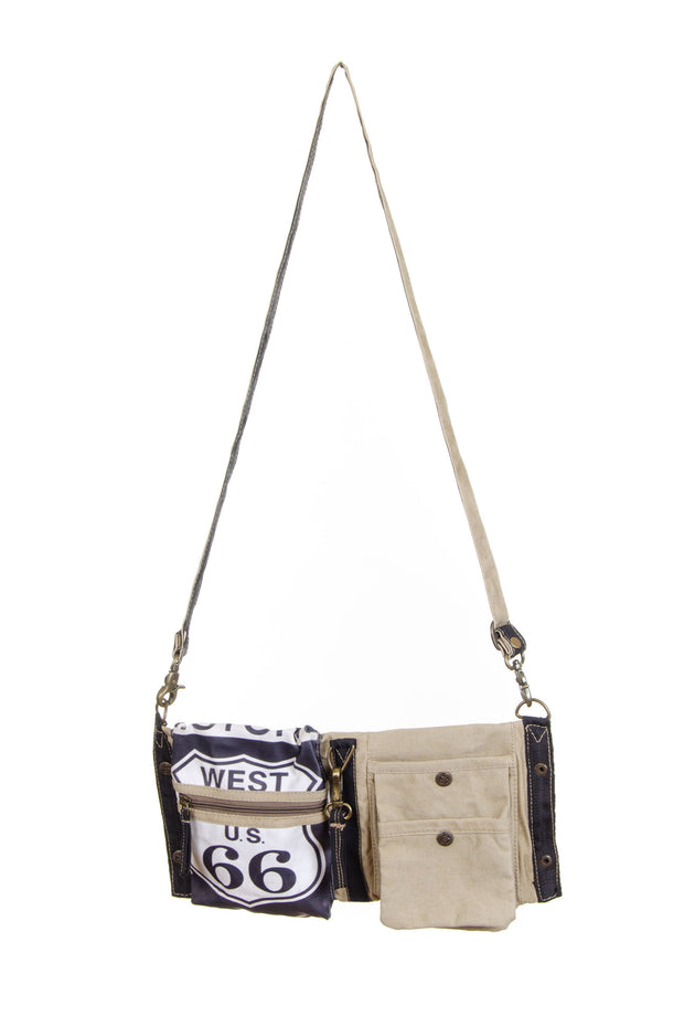 BEJ- Route 66 Crossbody (55652)