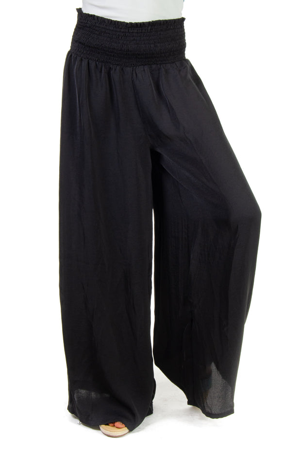 TCEC - Wide Leg Pant in Black (CP9139)