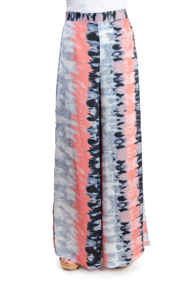 TCEC - Tie-dye Wide-leg Pant in Pink (CP9179)
