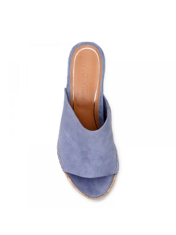 Vionic - Kadyn Wedge Slide in Blue (Tulum Kadyn)