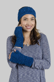 Windhorse - Crochet Fingerless Gloves (HW7001)