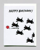 Happy Birthday Scottie Card