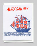 Ahoy Sailor! Greeting Card