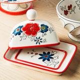 Flower Patch Butter Dish