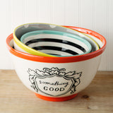 Good Thoughts Mixing Bowl Set of 3
