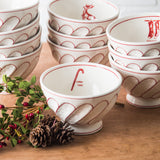 Holiday Cereal Bowl-Caddy Cane