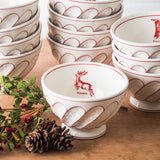 Holiday Cereal Bowl-Reindeer