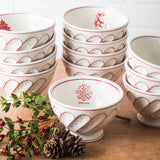 Holiday Cereal Bowl-Snowflake
