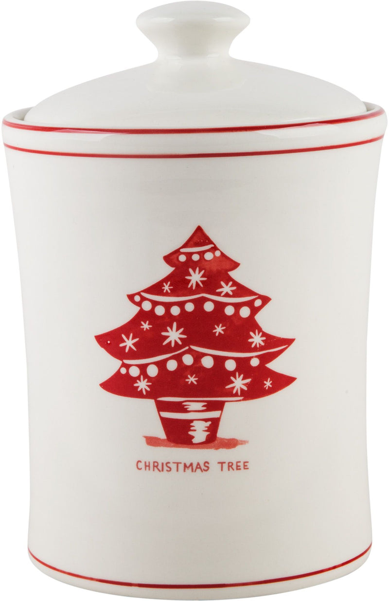 Christmas Tree Holiday Icon Cookie Jar
