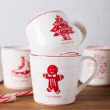 Gingerbread Holiday Mug