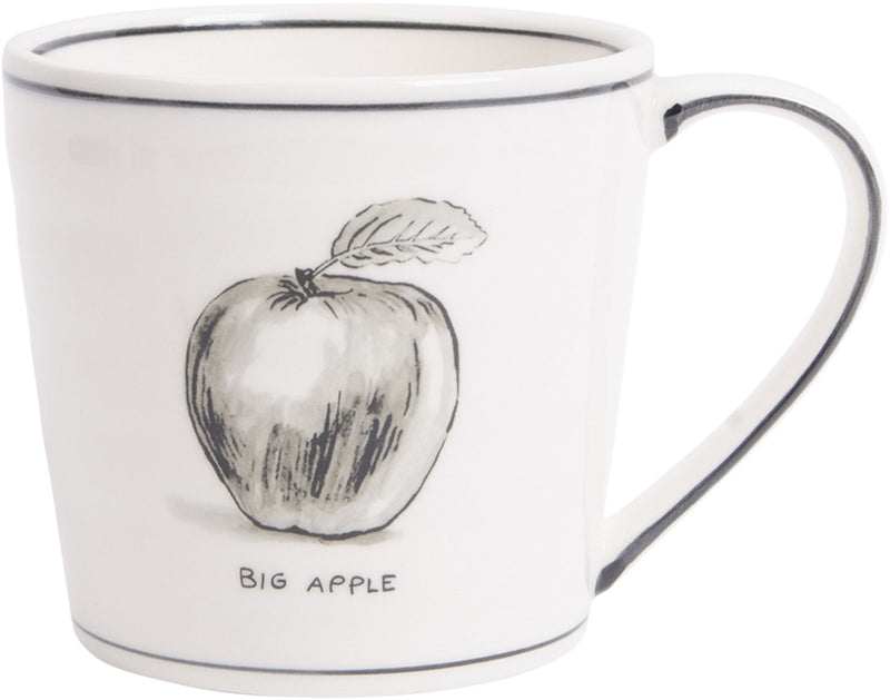 New York Icon Mug-Apple
