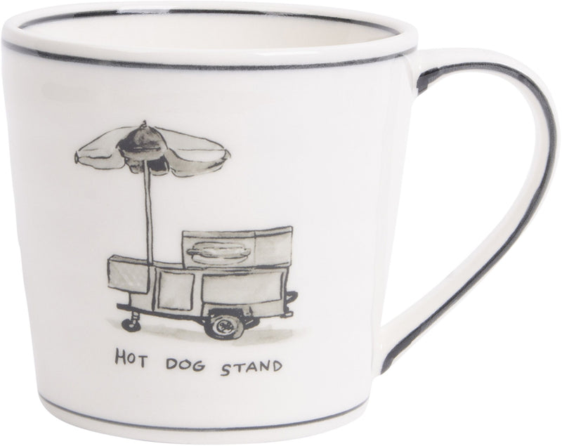 New York Icon Mug-Hot Dog Stand