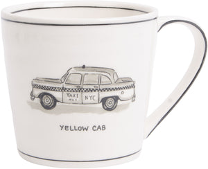 New York Icon Mug-Yellow Cab