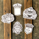 Father's Day Printable Badges of Honor Instant Download