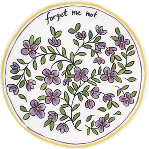 "Forget Me Not 8"" Plate"