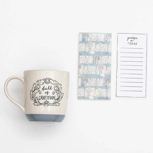 "Gifting mug- ""Full of Gratitude"""
